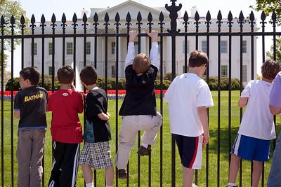 White House north gate