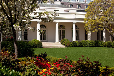 White House rose garden