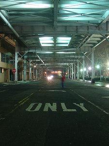 The Whitehurst Freeway - Washington, DC ... January 11, 2006 ... Photo by Rob Page III