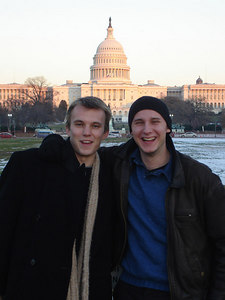 Phil Beer and Nick Lizop - Washington, DC ... December 10, 2005 ... Photo by Rob Page III