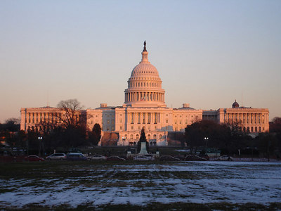 The United States Capitol - Washington, DC ... December 10, 2005 ... Photo by Rob Page III