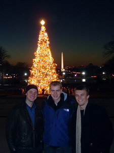 Nick Rob, and Phil - Washington, DC ... December 10, 2005 ... Photo by Rob Page III