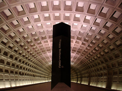 Foggy Bottom Metro Station - Washington, DC ... January 28, 2006 ... Photo by Rob Page III
