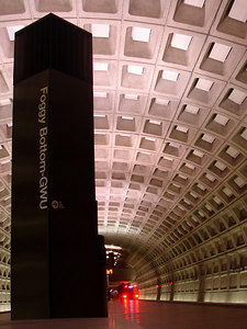 Foggy Bottom Metro Station - Washington, DC ... January 27, 2006 ... Photo by Rob Page III