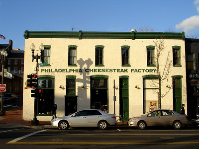 The Philadelphi Cheesteak Factory - Washington, DC ... January 29, 2006 ... Photo by Rob Page III