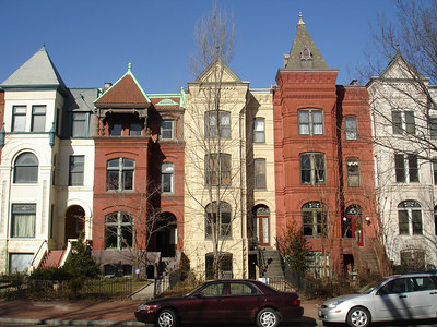 Townhouses - Washington, DC ... January 28, 2006 ... Photo by Rob Page III