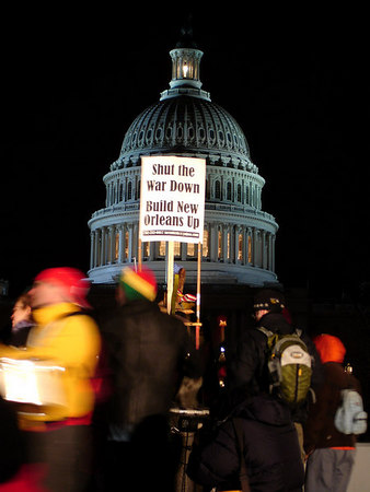 State of the Union Speech Protest