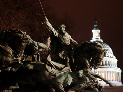 Attack the Capitol! - Washington, DC ... January 31, 2006 ... Photo by Rob Page III