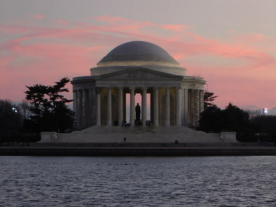 The Jefferson Memorial - Washington, DC ... January 29, 2006 ... Photo by Rob Page III