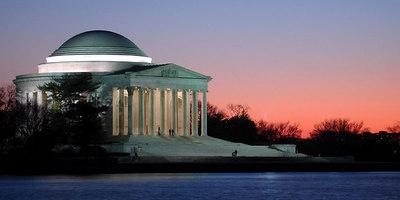 The Jefferson Memorial - Washington, DC ... January 29, 2006 ... Photo by Rob Page III