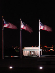 The Lincoln Memorial - Washington, DC ... January 29, 2006 ... Photo by Rob Page III