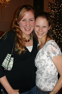 Heather and Emily enjoying New Year's Eve - Washington, DC ... December 31, 2006 ... Photo by Rob Page III