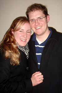 Heather and John enjoying New Years - Washington, DC ... December 31, 2006 ... Photo by Rob Page III