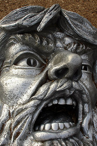 The gnarled face of the man at Hines Point - Washington, DC ... December 31, 2006 ... Photo by Rob Page III
