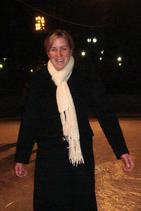 Heather enjoying the ice skating at Pershing Park - Washington, DC ... December 31, 2006 ... Photo by John Dussel