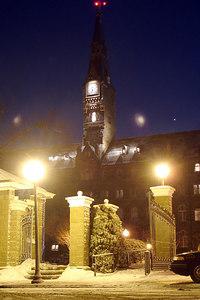 Healy Clocktower - Washington, DC ... February 18, 2007 ... Photo by Rob Page III