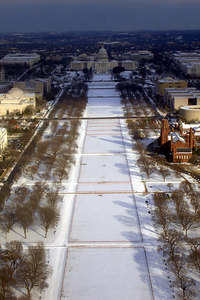 The National Mall and the Capitol - Washington, DC ... February 14, 2007 ... Photo by Rob Page III