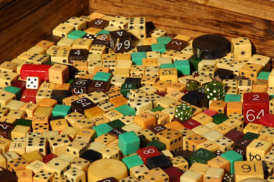 Dice for sale down at the Eastern Market - Washington, DC ... February 1, 2009 ... Photo by Emily Page