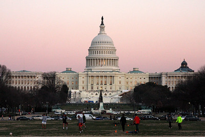 The Capitol at sunset - December 13, 2008 ... Photo by Rob Page III