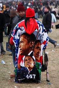 The ultimate Obama outfit - Washington, DC ... January 18, 2009 ... Photo by Rob Page III