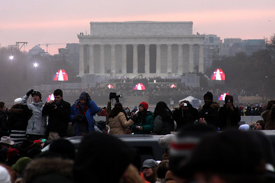 The Lincoln Memorial at the Concert at the Lincoln Memorial - Washington, DC ... January 18, 2009 ... Photo by Rob Page III