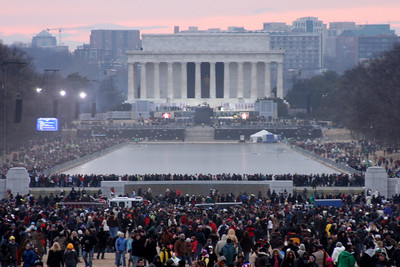The Lincoln Memorial after the Concert - Washington, DC ... January 18, 2009 ... Photo by Rob Page III
