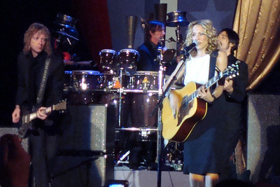 Sheryl Crow sings at the Midwest Inaugural Ball - Washington, DC ... January 20, 2009 ... Photo by Rob Page III