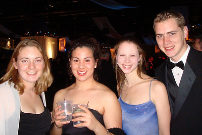 Mel, Andrea, Emily, and Rob enjoying the Midwest Inaugural Ball - Washington, DC ... January 20, 2009 ... Photo by Mrs. Boron
