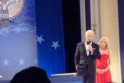Vice President Biden speaks at the Midwest Inaugural Ball - Washington, DC ... January 20, 2009 ... Photo by Rob Page III