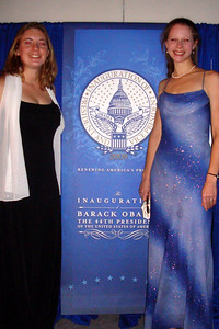 Mel and Emily at the Midwest Inaugural Ball - Washington, DC ... January 20, 2009 ... Photo by Rob Page III