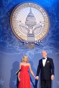 Vice President Joe Biden and his wife Jill at the Midwest Inaugural Ball - Washington, DC ... January 20, 2009 ... Photo by Rob Page III