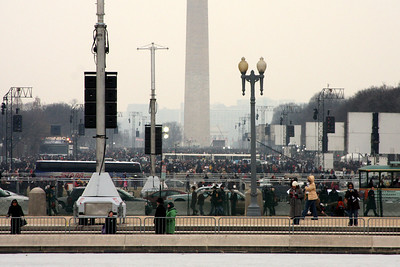 The National Mall the day before the Inauguration - Washington, DC ... January 19, 2009 ... Photo by Rob Page III