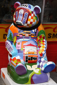 The panda outside of Ben's Chili Bowl - Washington, DC ... January 20, 2009 ... Photo by Rob Page III