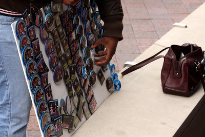 Obama stuff was sold everywhere - Washington, DC ... January 19, 2009 ... Photo by Rob Page III