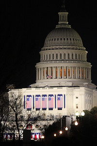 The Capitol on Inauguration day - Washington, DC ... January 20, 2009 ... Photo by Rob Page III