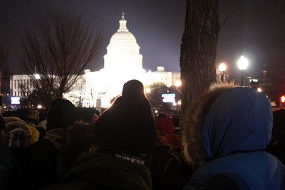 The crowds at 6:30 in the morning - Washington, DC ... January 20, 2009 ... Photo by Rob Page III
