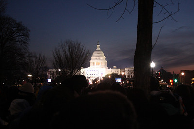 Sunrise comes to Washington, DC on Inauguration day - Washington, DC ... January 20, 2009 ... Photo by Rob Page III