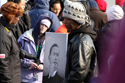 Even in the restricted areas people were selling Obama goods - Washington, DC ... January 20, 2009 ... Photo by Rob Page III