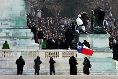The Texans have arrived - Washington, DC ... January 20, 2009 ... Photo by Rob Page III