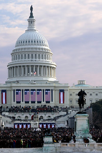 The Capitol on Obama's Inauguration day - Washington, DC ... January 20, 2009 ... Photo by Rob Page III