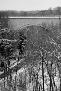 Calvert Road crosses Rock Creek - Washington, DC ... January 27, 2009 ... Photo by Rob Page III