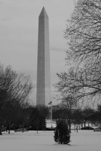 The Washington Monument - Washington, DC ... March 2, 2009 ... Photo by Rob Page III