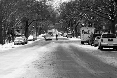 Looking down New Hampshire Avenue - Washington, DC ... March 2, 2009 ... Photo by Rob Page III