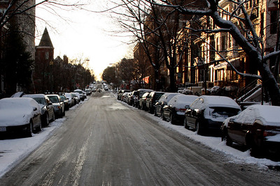 A street in Dupont Circle - Washington, DC ... March 2, 2009 ... Photo by Rob Page III
