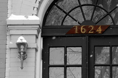 A doorway - Washington, DC ... March 2, 2009 ... Photo by Rob Page III
