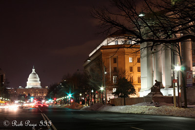 Pennsylvania Avenue - Washington, DC ... December 21, 2009 ... Photo by Rob Page III