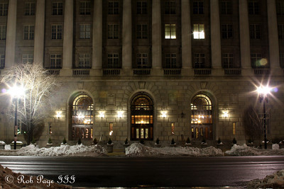 Washington in the snow - Washington, DC ... December 21, 2009 ... Photo by Rob Page III