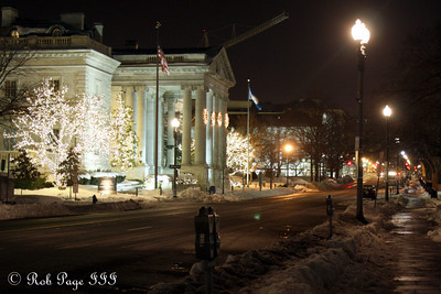The DAR building - Washington, DC ... December 21, 2009 ... Photo by Rob Page III