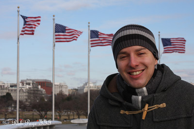 Michael enjoying DC - Washington, DC ... January 5, 2010 ... Photo by Rob Page III