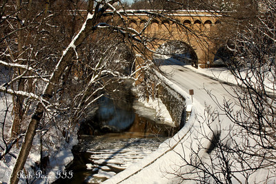 Rock Creek Park in the snow